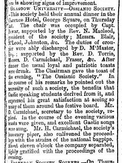 1865_03_25 pg 5 Ossianic annual