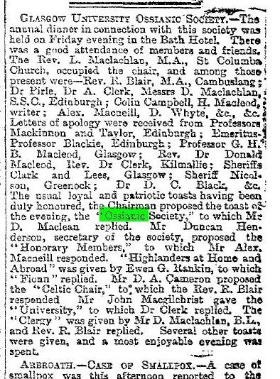 1886_03_29 (pg 5) Ossianic dinner (herald)