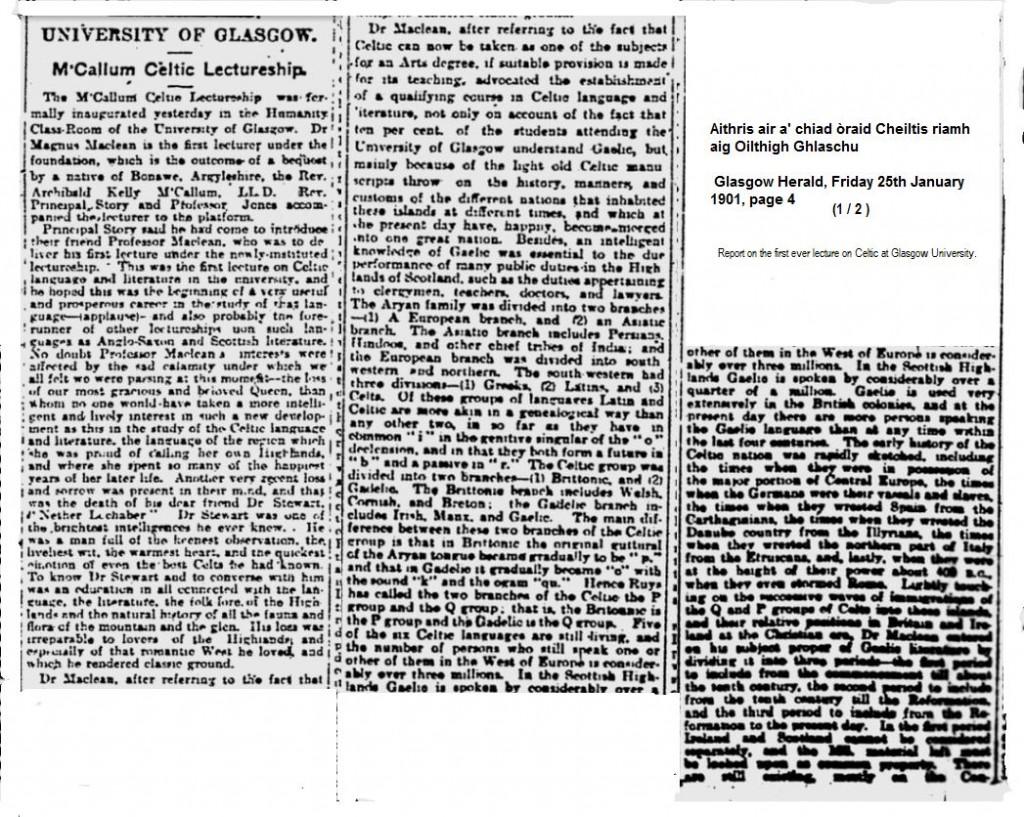 1901_01_25 (pg 4) Mag_Mclean_lecture_Ciad Oraid Cheiltis ( 1 a 2)