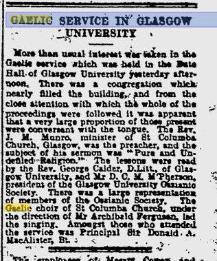1926_02_01 pg 7_Seirbhis Gaidhlig an Talla Bute