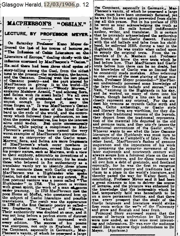 1906_03_12_pg 12 K Meyer on Ossian