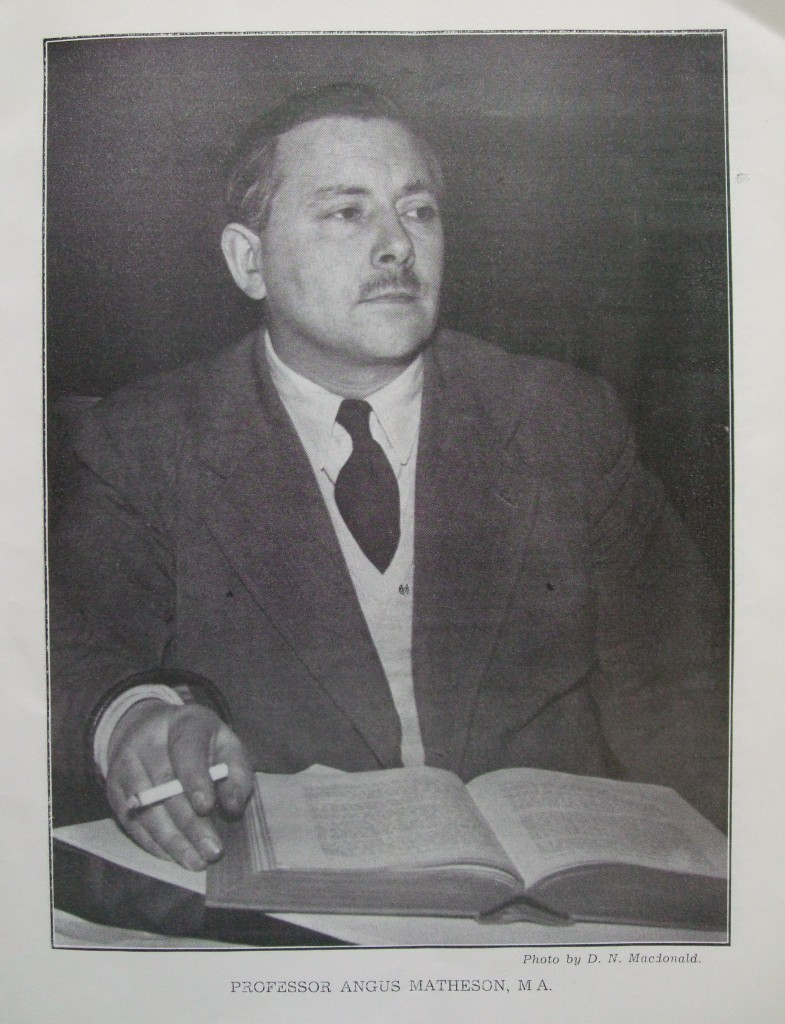 Ossian 1957 - 15 Angus Matheson portrait