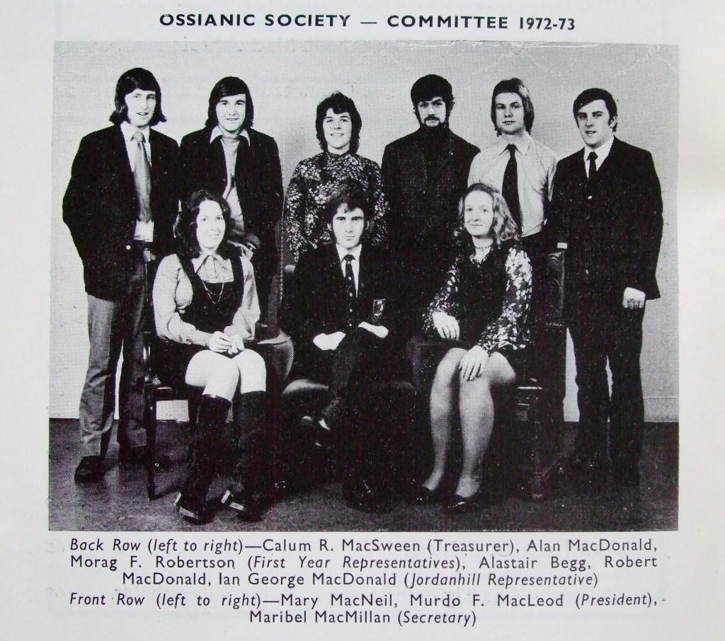Ossian 1973 - 06 buill comataidh - dealbh