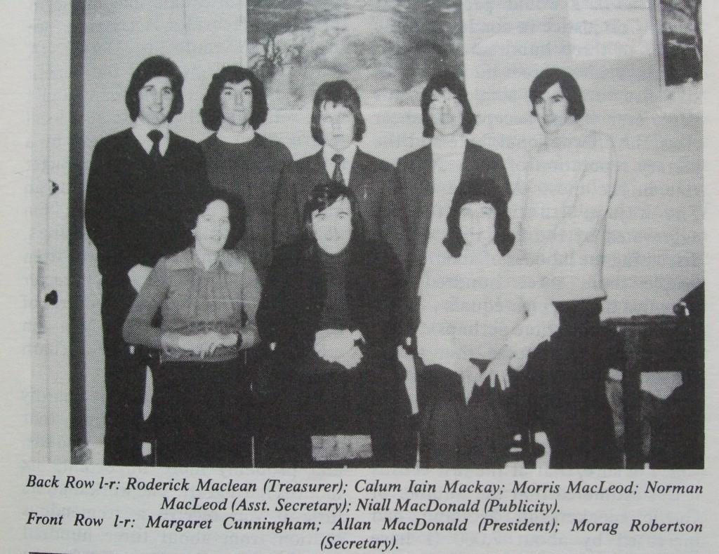 Ossian 1975 - 03 buill comataidh - dealbh