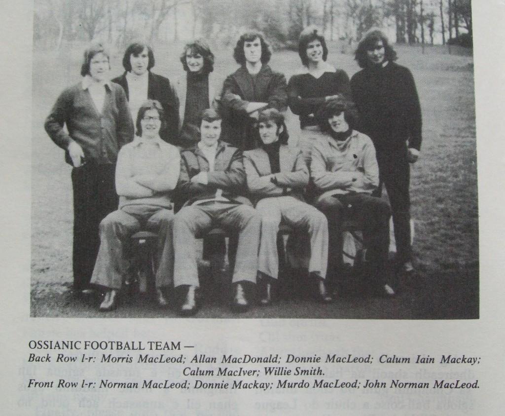 Ossian 1975 - 05 Sgioba ball coise - dealbh