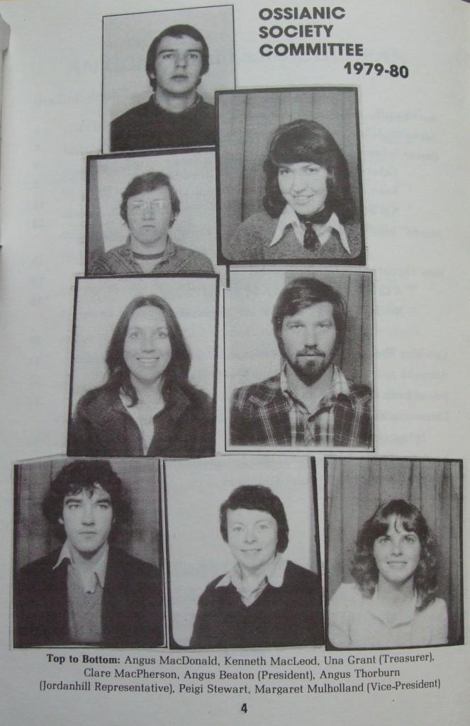 Ossian 1980 - 04 buill comataidh - dealbh