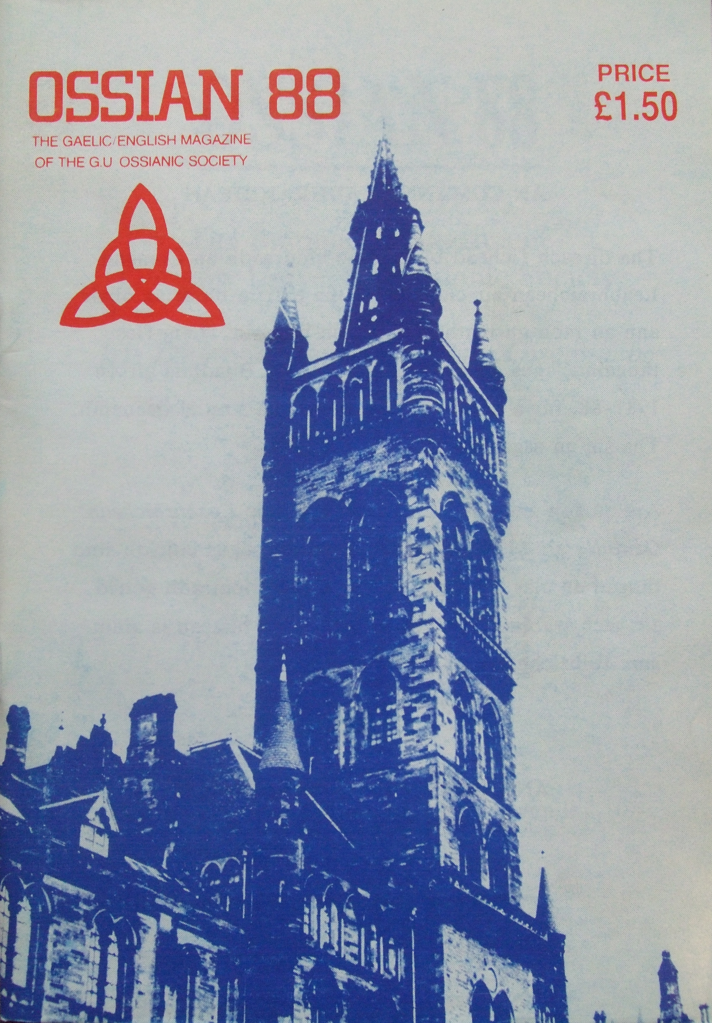 19th 20th C Ossianic Society The Gaelic Story At University Chevy Wiring Diagram 1988 Dach Ossian 00 Comhdach
