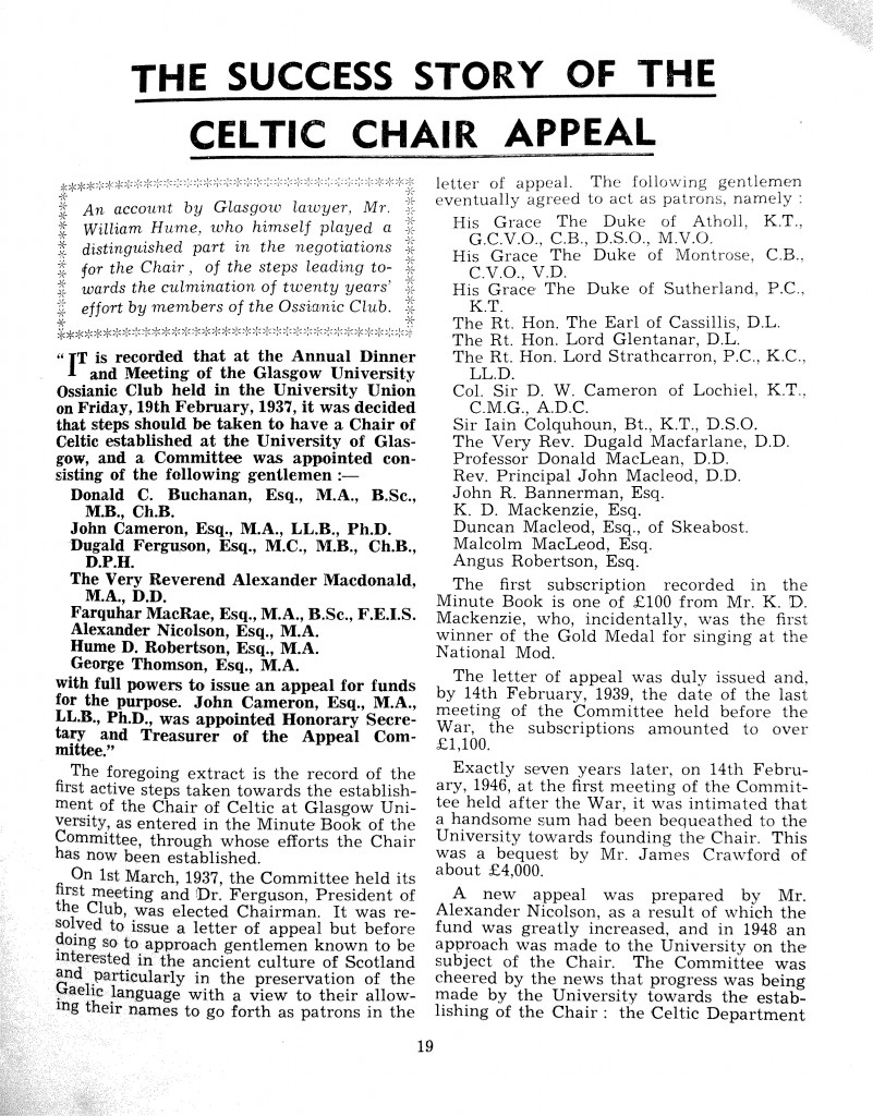 Ossian 1957 - 19 Celtic chair appeal (1)