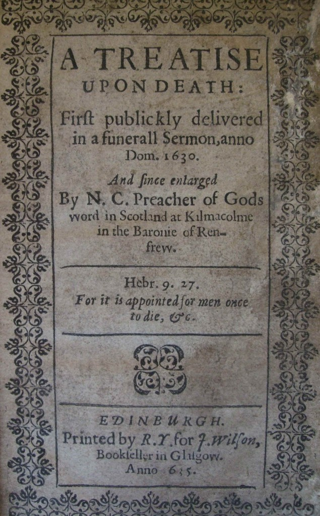 GUL Sp Coll_Ninian Campbell_Treatise (1635)