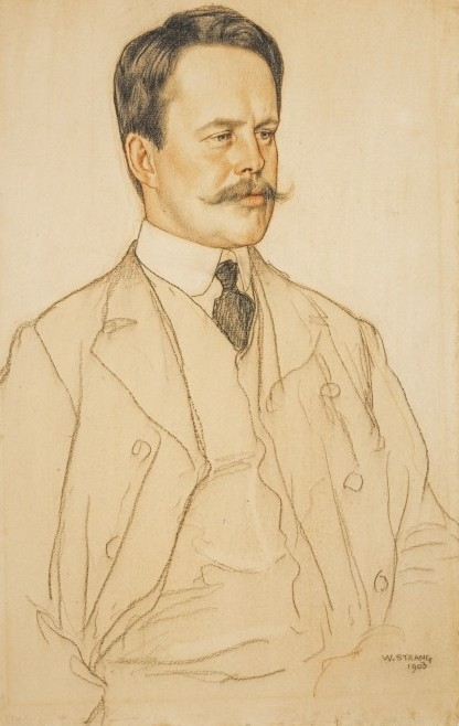 NPG 928 Neil Munro (1864-1930)  by William Strang
