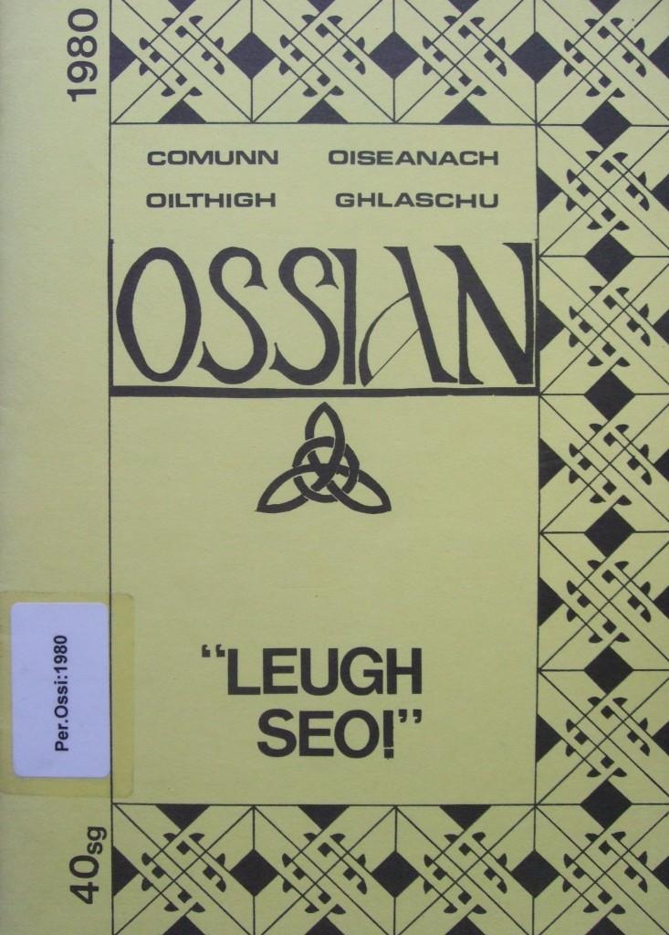 Ossian 1980 - 00 comhdach