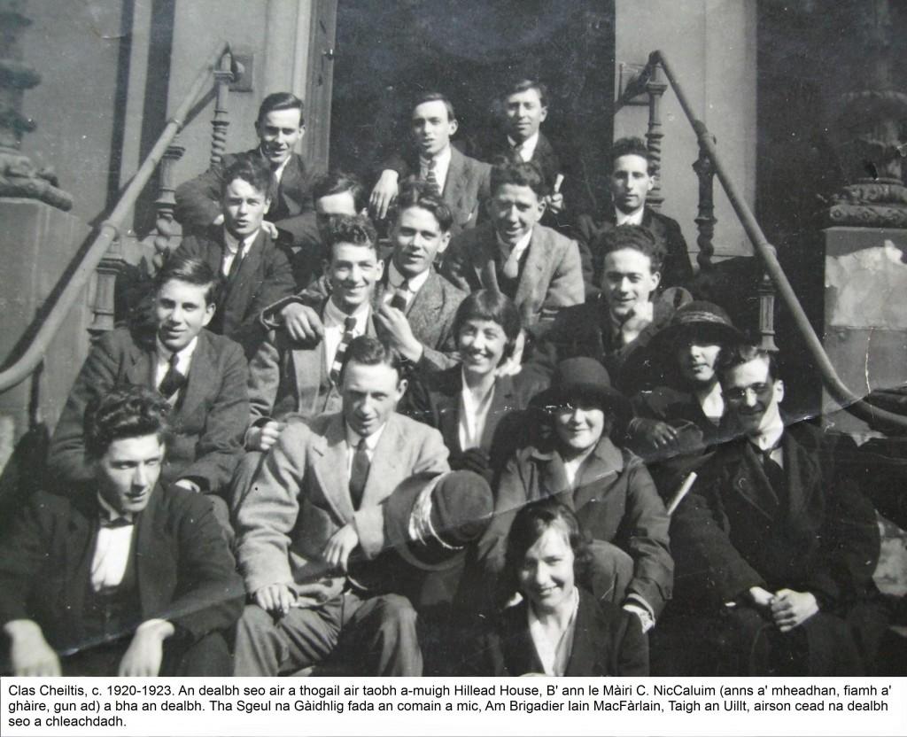 Clas Cheiltis c 1920-23